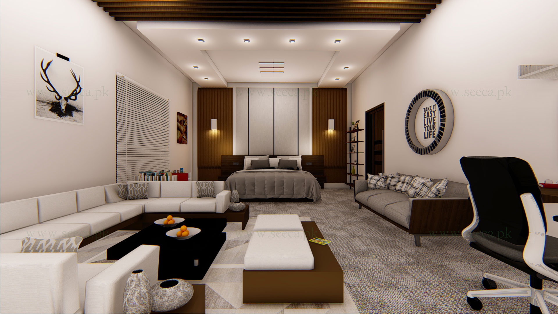Services involved in interior designing